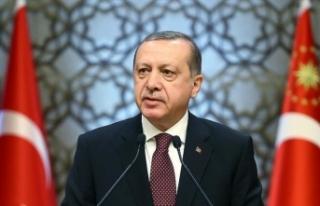 Erdoğan şehit polis Çelik'in ailesine başsağlığı...