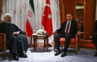 Erdoğan-Ruhani görüşmesi sona erdi