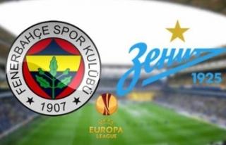 Fenerbahçe Zenit maçı ne zaman, saat kaçta, hangi...