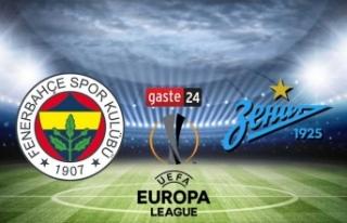 Fenerbahçe Zenit beIN Sports izle - Fenerbahçe Zenit...