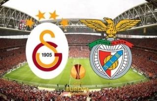 Galatasaray Benfica maçı ne zaman, saat kaçta,...