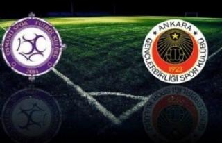 Gençlerbirliği Osmanlıspor maçı nerede, ne zaman...