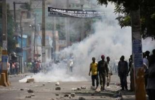 Haiti'de olayların önü alınamıyor!