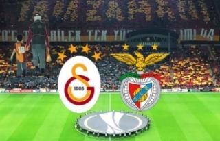 İşte Galatasaray Benfica maçı Muhtemel 11'leri