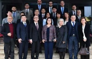 Japon bilim adamları İzmir'den ayrıldıkları...