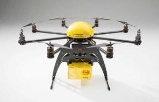 Kargolar drone ile taşınacak!