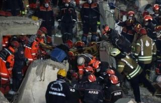 Kartal'da binanın çökmesi sonucu ölenlerin...