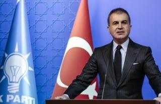 AK Parti Sözcüsü Ömer Çelik'ten düşen...