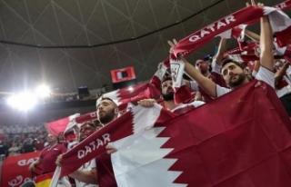 'Katar forması giyen' İngiliz vatandaşı...