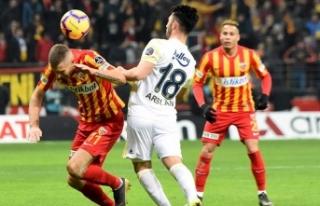 Maç sonrası Fenerbahçe'ye 1 kırmızı kart...