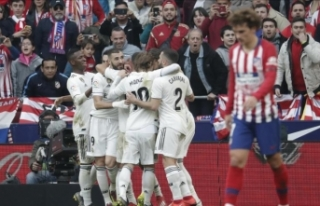Madrid derbisi Real'in