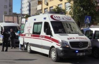 Otobüste rahatsızlanan Suriyeli çocuk yaşamını...