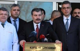 Sağlık Bakanı yaralıların son durumunu açıkladı