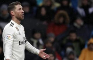 UEFA'dan Sergio Ramos için soruşturma