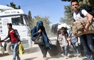 Ülkesine dönen Suriyeli sayısı belli oldu