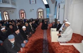 Ahi Evren Hastanesi Altı Camisi ibadete açıldı