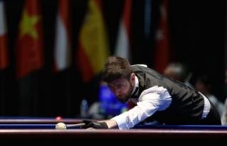 Bilardo Milli Takımı dünya şampiyonu