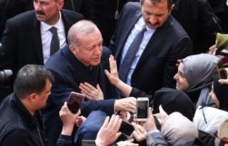 Cumhurbaşkanı Erdoğan'a İstanbul'da...