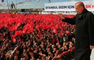 Cumhurbaşkanı Erdoğan'dan İstanbullulara birçok...