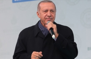 Cumhurbaşkanı Erdoğan: Günde 1 milyon 700 bin...