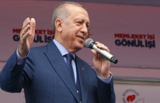 Cumhurbaşkanı Erdoğan: Bayrak düşmanları hala...