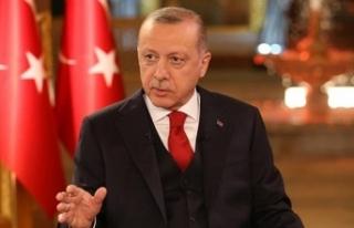 Cumhurbaşkanı Erdoğan'dan cami saldırısıyla...