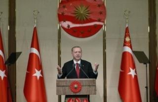 "Cumhurbaşkanı Erdoğan'dan ""İstiklal..."