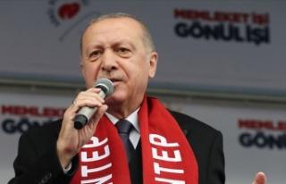 Cumhurbaşkanı Erdoğan katliamdan etkilenen Türklerin...