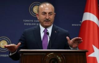 Dışişleri Bakanı Çavuşoğlu'ndan dayanışma...