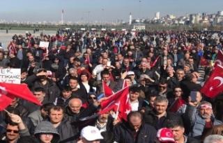 'Emeklilikte yaşa takılanlar'dan İstanbul'da...
