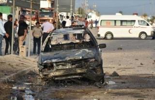 Irak'ta bombalı araçlı saldırı