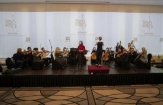 'Kadın orkestrası' kurdular kadın bestecileri...