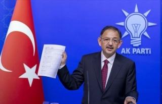 Mehmet Özhaseki mal varlığını açıkladı
