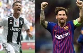 Messi'den Juventus'u taşıyan Ronaldo'ya...