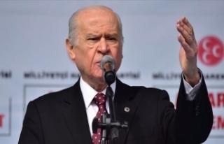 MHP Genel Başkanı Bahçeli: İzmir'i hiç kimse...