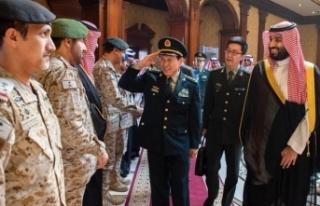 Prens Selman, Çin Savunma Bakanı'yla görüştü