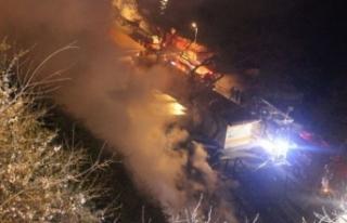 Sarıyer Midyeciler Çarşısı'nda patlama