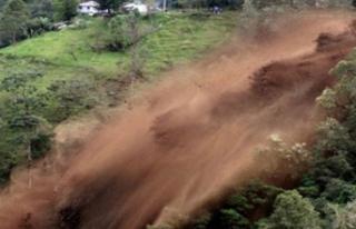 Toprak kayması: Ölüler ve yaralılar var