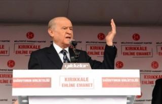 'Türkiye düşmanlarının yancılığına zillet...