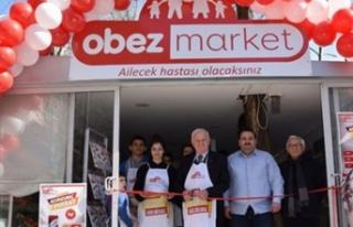 Türkiye'nin ilk 'obez market'i hizmete girdi!