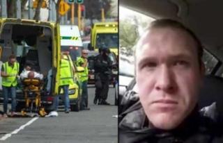 Yeni Zelanda'daki terörist Türkiye'ye...