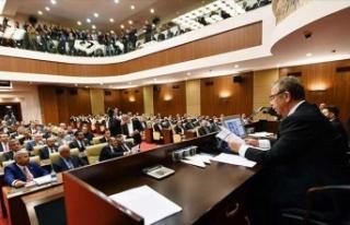 Ankara Belediye Meclisi'nde Mansur Yavaş'lı...