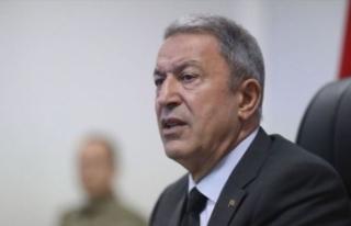 Bakan Akar'dan önemli terör saldırısı açıklaması