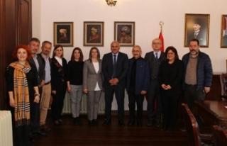 Baro yönetiminden Başkan Zorluoğlu'na ziyaret