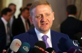 Başakşehir Başkanı Abdurrahim Albayrak'a...