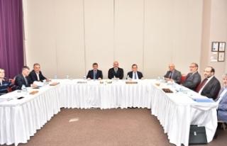 Başkan Zorluoğlu, TDTM Yönetim Kurulu toplantısına...