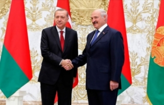 Belarus Cumhurbaşkanı Lukaşenko Türkiye'ye...