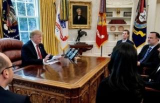 Beyaz Saray'da sürpriz zirve!