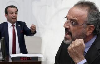 CHP'li Tanju Özcan ve HDP'li Sırrı Sakık...