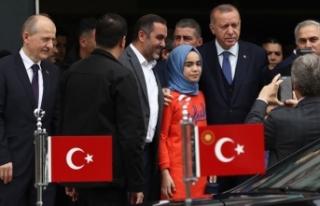 Cumhurbaşkanı Erdoğan'dan Fatih Belediyesi'ne...